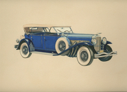 1931 Duesenberg Touring Car