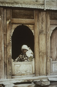 Woman at a Window, Barra Bangal, India