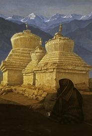 Beggar Woman, Leh, Ladakh