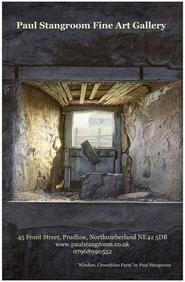 Window, Crossdykes Farm Poster