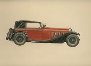 1927 Mercedes Benz Cabriolet